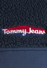 Tommy Jeans - MIX MEDIA JACKET - Light jacket - twilight navy - 2