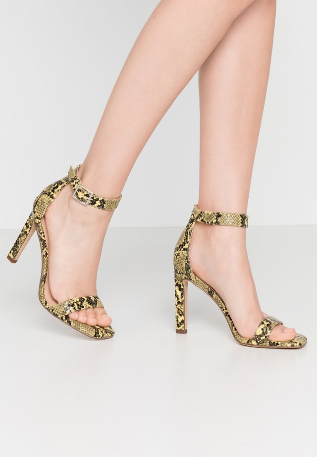 ARA - High heeled sandals - yellow