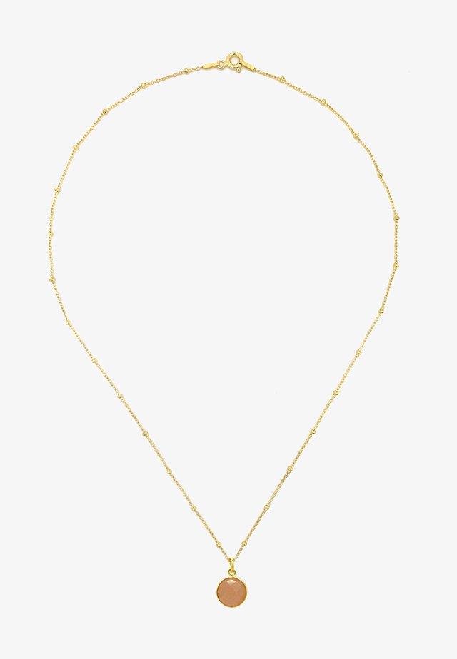 Ketting - gold pink