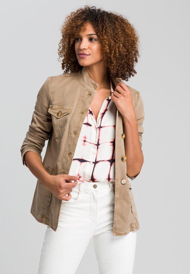 Denim jacket - taupe