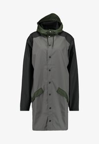 Rains - LIMITED EDITION COLOR BLOCK LONG - Regenjas - charcoal/black - 5
