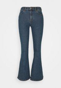 Dr.Denim Petite - MACY - Široké džíny - stoker blue - 6
