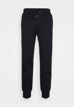 GENTS STRIPE PANEL JOGGER - Tracksuit bottoms - black