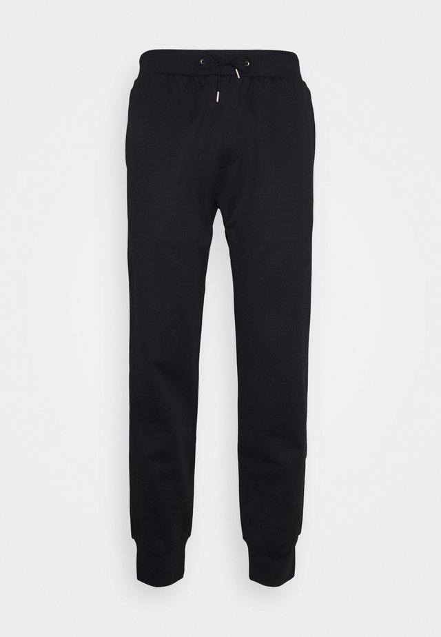 GENTS STRIPE PANEL JOGGER - Pantalon de survêtement - black