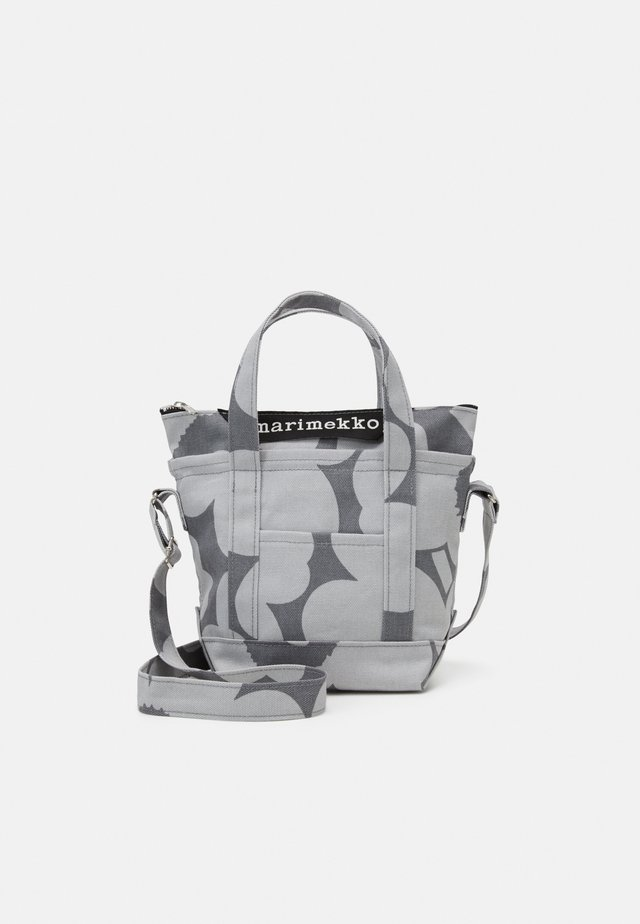 MILLI MATKURI PIENI UNIKKO BAG - Borsa a mano - grey/light grey