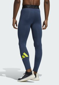 adidas Performance - TURF 3 BAR LT PRIMEGREEN TECHFIT WORKOUT COMPRESSION LEGGINGS - Collants - blue - 1