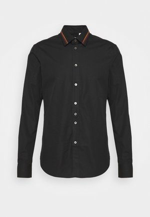 GENTS SLIM - Košile - black