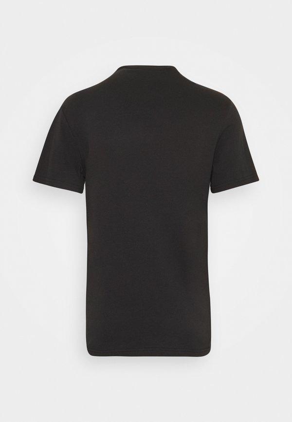 YOURTURN UNISEX - T-shirt z nadrukiem - black/czarny Odzież Męska GVEN