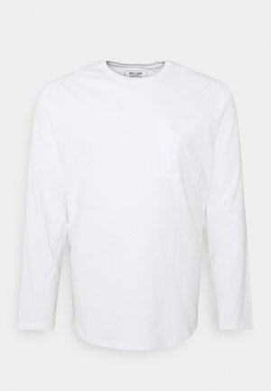 ONSMAKHI LIFE POCKET TEE  - Longsleeve - bright white