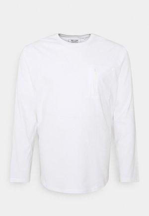ONSMAKHI LIFE POCKET TEE  - Long sleeved top - bright white