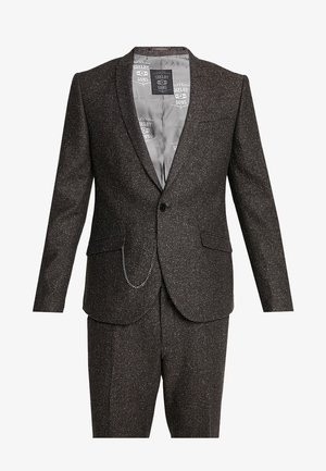 BUCKLAND SUIT - Kostuum - dark brown