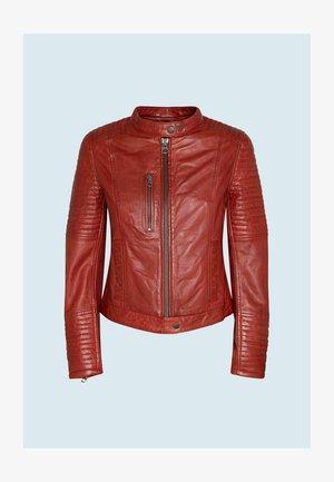 Leather jacket - mars rot