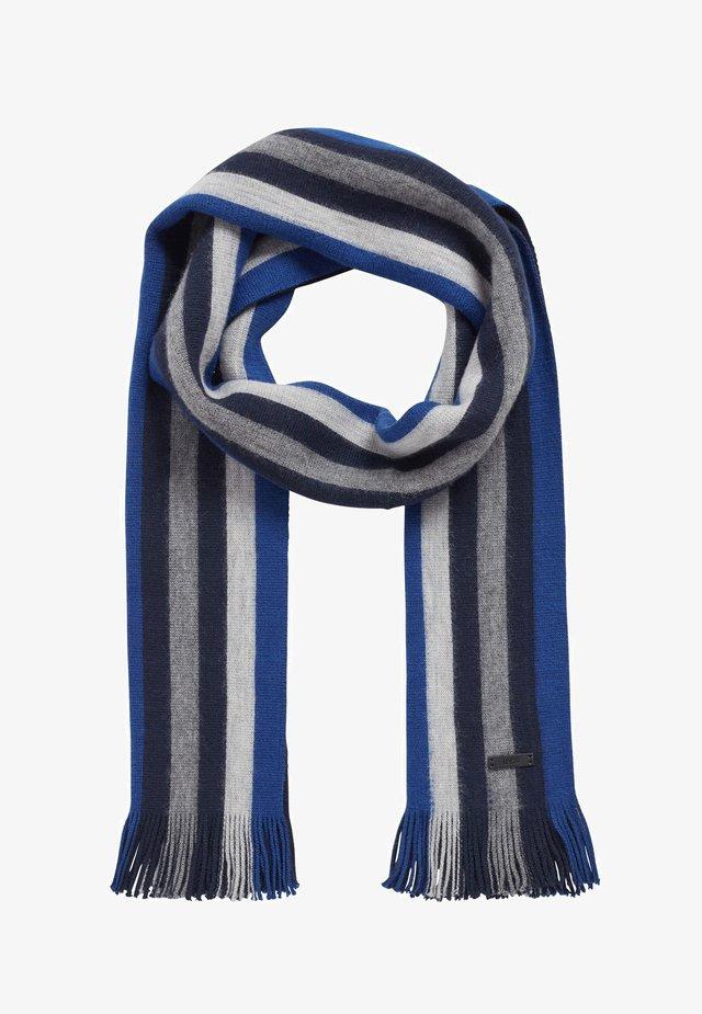 MANZI - Scarf - dark blue