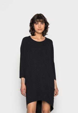 TILDE DRESS - Jersey dress - mottled dark grey