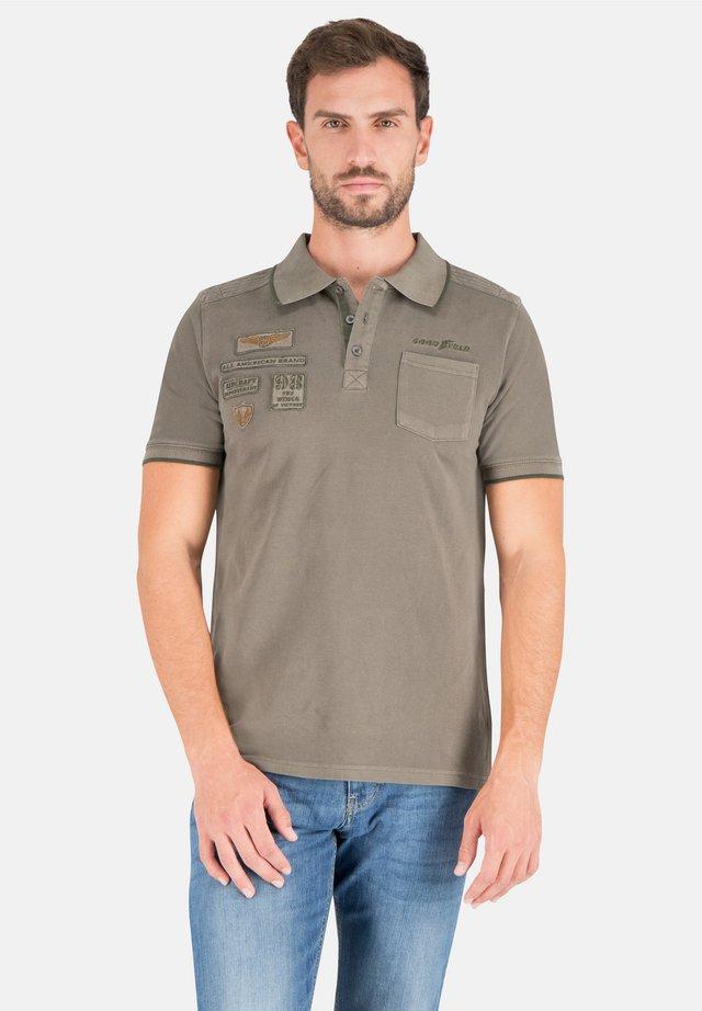 CHARLESTON - Polo shirt - dusty olive
