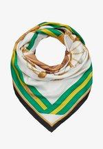 EQUESTRIAN SQUARE - Foulard - white/multicoloured