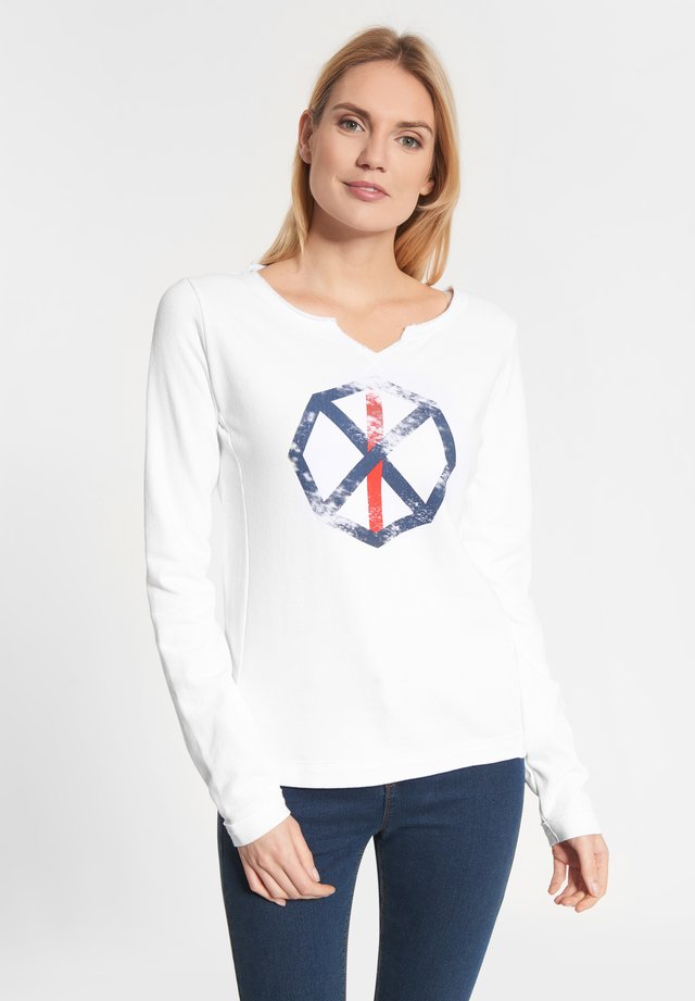 PARMA SPINNRAD - Long sleeved top - white
