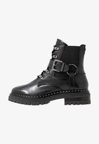 Mexx - DESNEY - Cowboy/biker ankle boot - black - 1