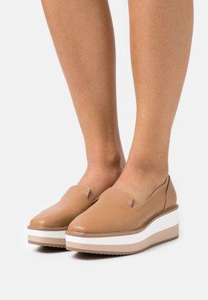 BREVIEL - Platform heels - beige