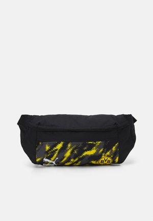BVB BORUSSIA DORTMUND ICONIC STREET WAIST BAG - Bum bag - black/cyber yellow
