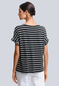Alba Moda - Print T-shirt - schwarz,off-white - 2