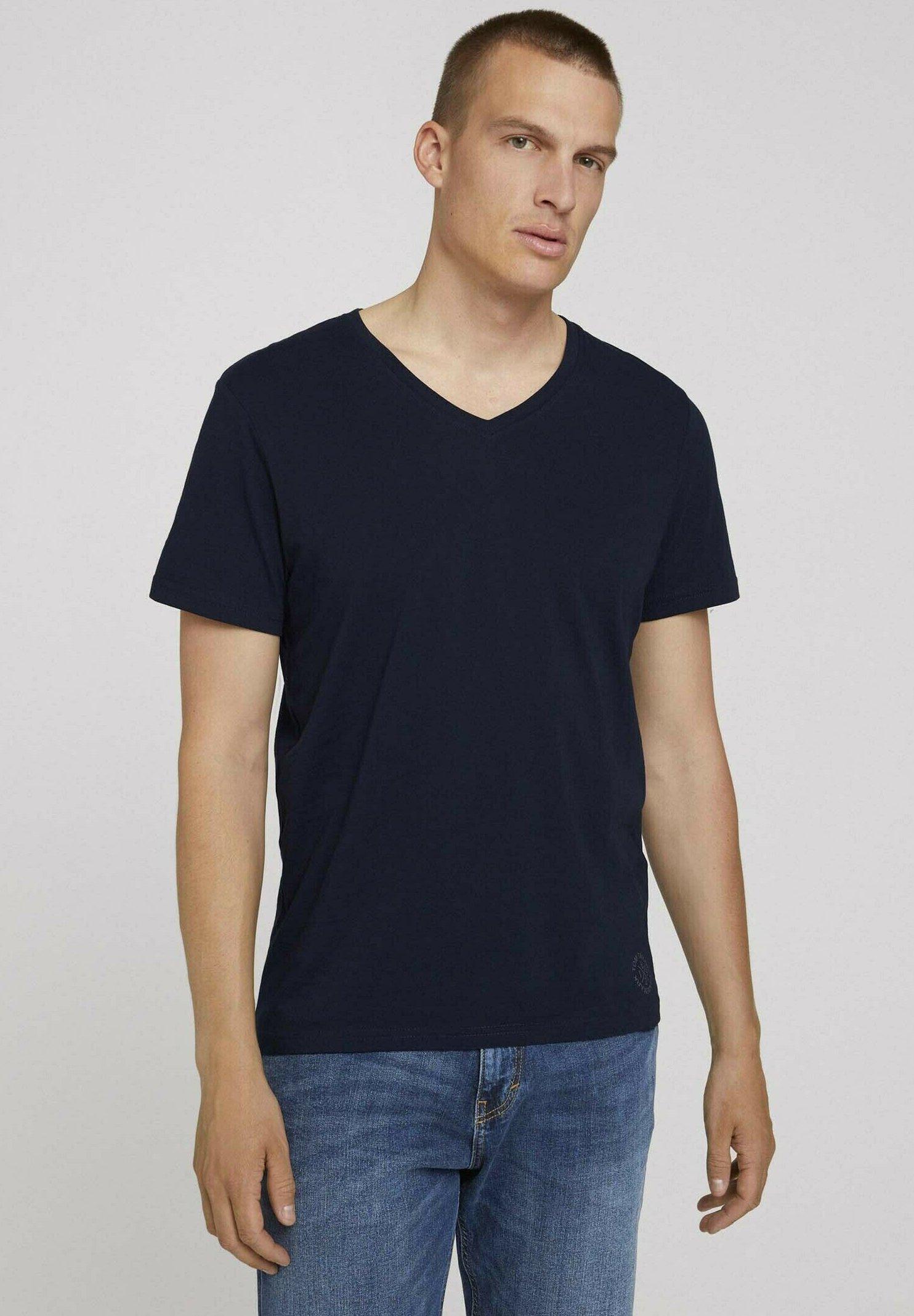 Homme DOPPELPACK - T-shirt basique