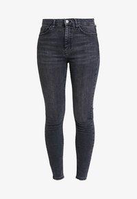 Topshop - JAMIE NEW - Jeans Skinny Fit - black denim - 3