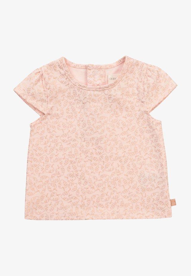 T-shirt imprimé - baby pink