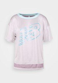 New Balance - ACHIEVER GRAPHIC  - T-shirt med print - logwood - 4