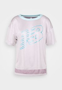 ACHIEVER GRAPHIC  - Print T-shirt - logwood