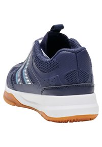 Hummel - REACH LX JR UNISEX - Handball shoes - peacoat - 3