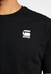 G-Star - KORPAZ LOGO - Print T-shirt - dark black - 5