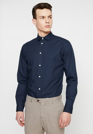 SLHSLIMMARK WASHED - Formal shirt - navy blazer