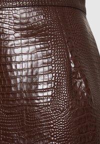 Han Kjøbenhavn - SKIRT - A-line skirt - brown - 2