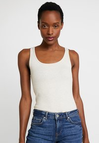 GAP - TANK - Top - oatmeal heather - 0