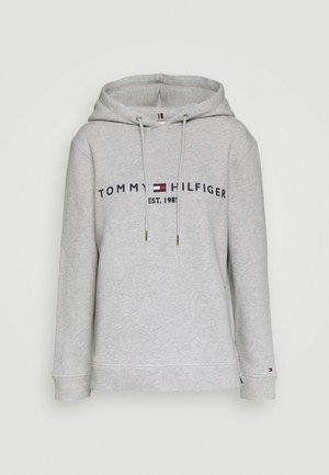 HOODIE - Jersey con capucha - light grey