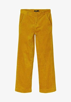 Trousers - nugget gold