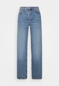 Monki - YOKO  - Flared jeans - blue medium - 0