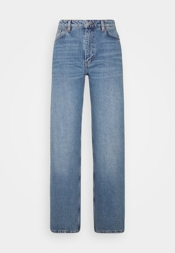 Jeans a zampa - blue medium