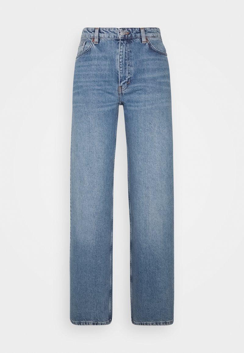 Monki - YOKO  - Flared jeans - blue medium