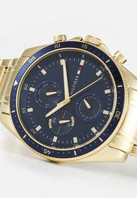 Tommy Hilfiger - PARKER - Watch - gold-coloured/blue - 4