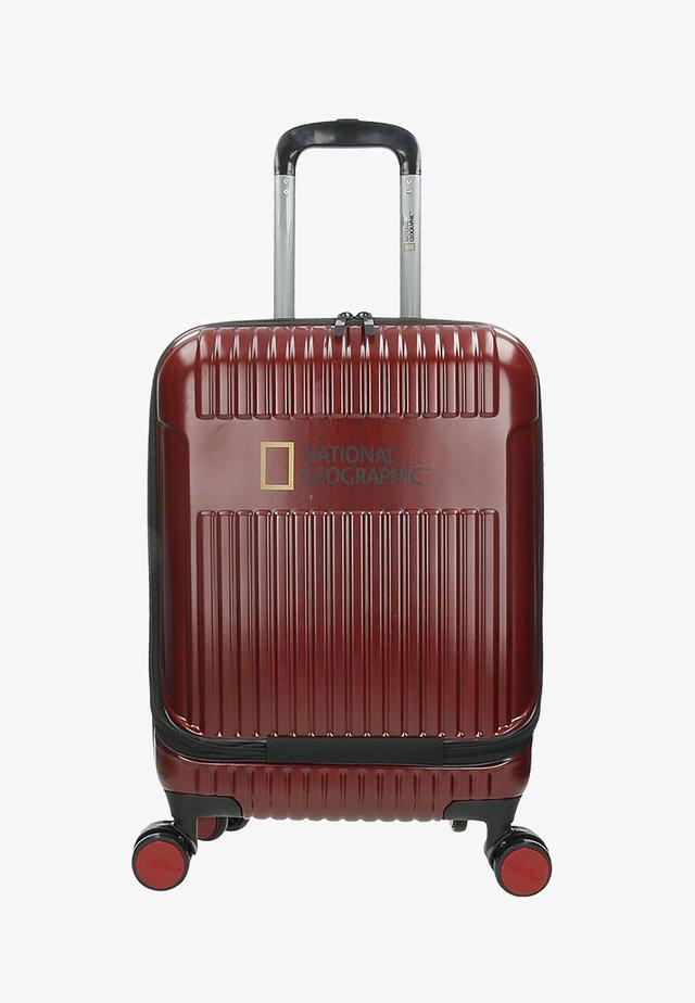 TRANSIT - Wheeled suitcase - rot