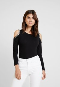 Guess - LEONORA - Long sleeved top - jet black - 0