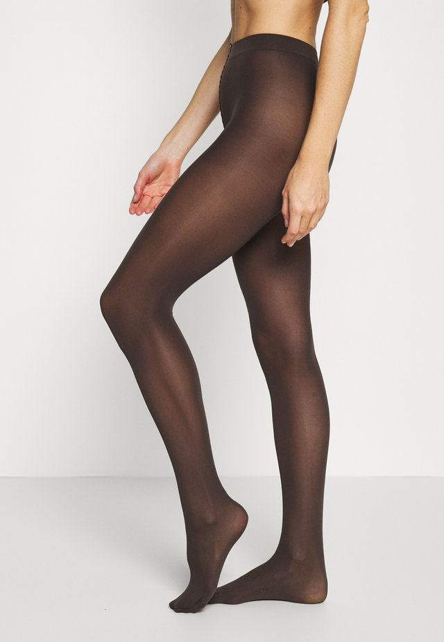 REBECCA ECO - Collant - brown