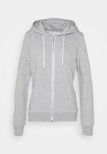 Regular Fit Zip Sweat Jacket Contrast Cord