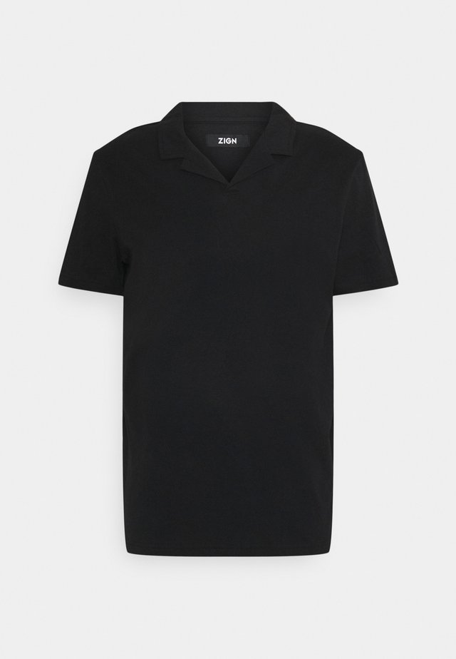 RESORT COLLAR  - Polo - black