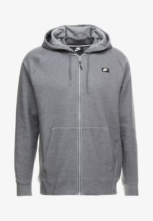 OPTIC HOODIE - Zip-up hoodie - dark grey heather