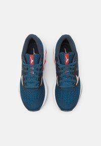 Mizuno - WAVE INSPIRE 17 - Stabilty running shoes - india ink/platinum gold/ignition red - 3