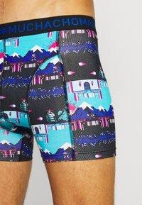MUCHACHOMALO - ENDBOSS 3 PACK - Pants - blue/turquoise - 5
