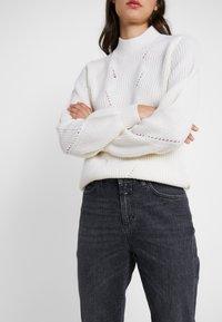 CLOSED - BAKER HIGH - Džíny Slim Fit - dark grey - 3